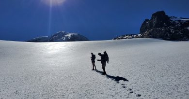 The Flett Glacier for the 18 Year Link Up